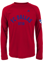 FC Dallas Youth Red Squared Ring Long Sleeve T-Shirt