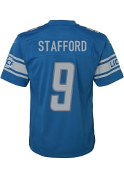 Matthew Stafford Detroit Lions Youth Blue Nike Replica Game Football Jersey