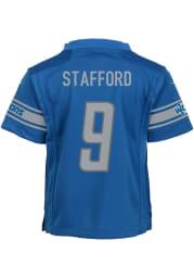 Matthew Stafford Detroit Lions Boys Blue Nike Replica Football Jersey