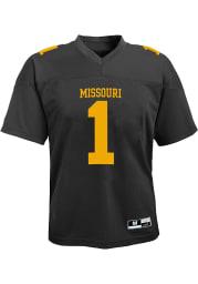 Missouri Tigers Toddler Black Gen 2 Football Jersey