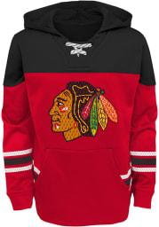 Chicago Blackhawks Youth Red Freezer Long Sleeve Hoodie