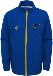 St Louis Blues Youth Blue Prevail Light Weight Jacket