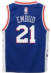 Joel Embiid Outer Stuff Philadelphia 76ers Toddler Blue Road Jersey Basketball Jersey