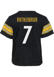 Ben Roethlisberger Pittsburgh Steelers Baby Black Nike Replica Game Football Jersey
