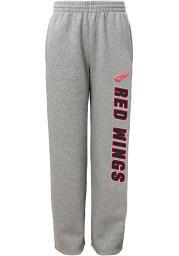 Detroit Red Wings Boys Grey Post Game Sweatpants