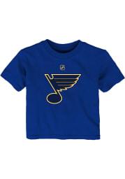 St Louis Blues Infant Primary Logo Short Sleeve T-Shirt Blue