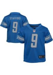 Matthew Stafford Detroit Lions Baby Blue Nike Home Football Jersey