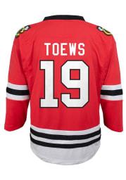 Jonathan Toews Chicago Blackhawks Youth Replica Hockey Jersey - Red