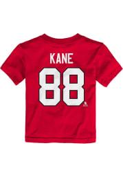 Patrick Kane Chicago Blackhawks Toddler Red Player Short Sleeve Player T Shirt