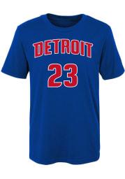 Blake Griffin Detroit Pistons Boys Blue Player Short Sleeve T-Shirt