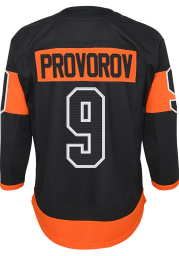 Ivan Provorov Philadelphia Flyers Youth Black Premier Hockey Jersey