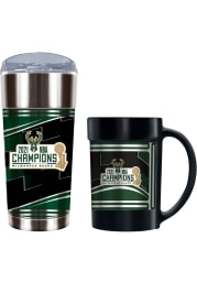 Milwaukee Bucks 2 Piece Set Drink Set