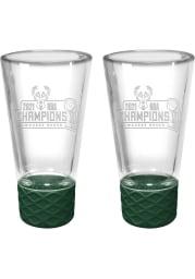 Milwaukee Bucks 2 Piece Set Shot Glass