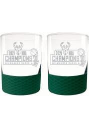 Milwaukee Bucks 15 oz Set Rock Glass