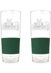 Milwaukee Bucks 2 Piece Set Pint Glass