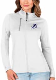 Antigua Tampa Bay Lightning Womens White Generation Light Weight Jacket