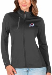 Antigua Colorado Avalanche Womens Grey Generation Light Weight Jacket