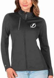 Antigua Tampa Bay Lightning Womens Grey Generation Light Weight Jacket