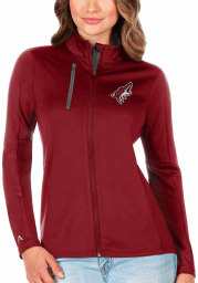 Antigua Arizona Coyotes Womens Red Generation Light Weight Jacket