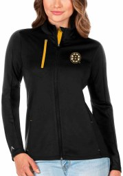 Antigua Boston Bruins Womens Black Generation Light Weight Jacket