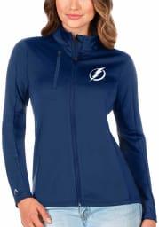 Antigua Tampa Bay Lightning Womens Blue Generation Light Weight Jacket