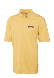 Cutter and Buck Lafayette College Mens Gold Genre Short Sleeve Polo