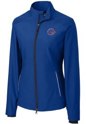 Cutter and Buck Boise State Broncos Womens Blue Beacon Light Weight Jacket