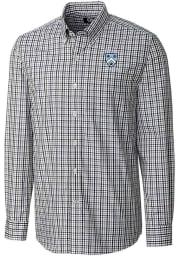 Cutter and Buck Columbia University Lions Mens Navy Blue Gilman Long Sleeve Dress Shirt