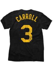 DeMarre Carroll Utah Jazz Black Tri-Blend Short Sleeve Player T Shirt