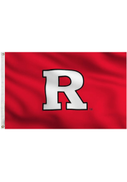 Rutgers Scarlet Knights 3x5 Red Grommet Applique Flag
