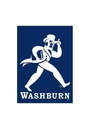 Washburn Ichabods 30x40 Blue Silk Screen Banner