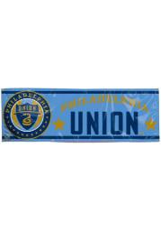 Philadelphia Union 2x6 Blue Vinyl Banner