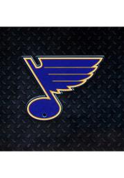 St Louis Blues Steel Logo Magnet