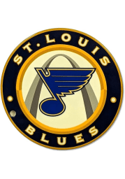 St Louis Blues Round Magnet