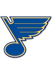 St Louis Blues 12 Steel Logo Sign