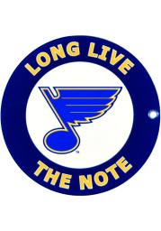 St Louis Blues Long Live The Note Magnet