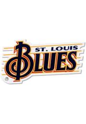 St Louis Blues Vintage Treble Magnet