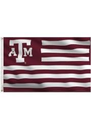 Texas A&M Aggies 3x5 Maroon, White Grommet Maroon Silk Screen Grommet Flag