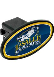 La Salle Explorers Plastic Oval Car Accessory Hitch Cover
