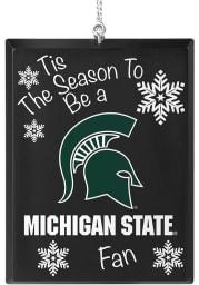 Michigan State Spartans Tis the Season Ornament