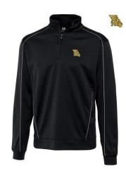 Missouri Western Griffons Mens Black DryTec Edge Long Sleeve 1/4 Zip Pullover