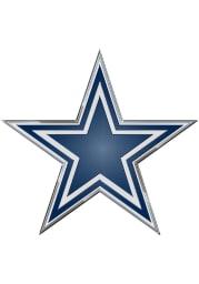 Sports Licensing Solutions Dallas Cowboys Die Cut Car Emblem - Navy Blue