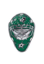 Dallas Stars Goalie Full Color Car Emblem - Green