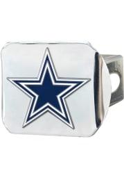 Dallas Cowboys Chrome Car Accessory Hitch Cover