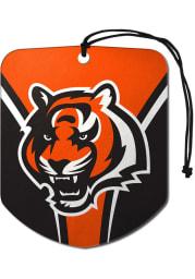 Sports Licensing Solutions Cincinnati Bengals 2pk Shield Auto Air Fresheners - Orange