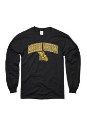 Missouri Western Griffons Black Arch Long Sleeve T Shirt