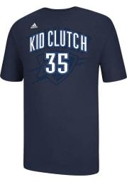 Kevin Durant Oklahoma City Thunder Navy Blue Kid Clutch Short Sleeve Player T Shirt