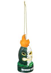 Michigan State Spartans Lit Tiki Ornament