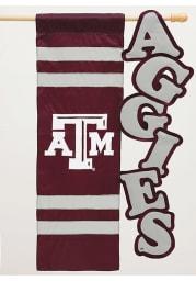 Texas A&M Aggies Vertical Letter Banner
