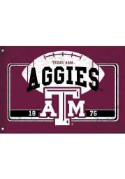 Texas A&M Aggies 3x5 ft Linen Estate Maroon Silk Screen Grommet Flag